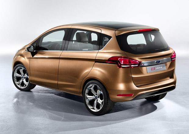 Ford přeruší výrobu B-Maxu, je o něj malý zájem