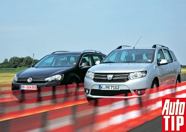 Volkswagen Golf VI Variant 1.4 TSI vs. Dacia Logan MCV 0.9 TCe