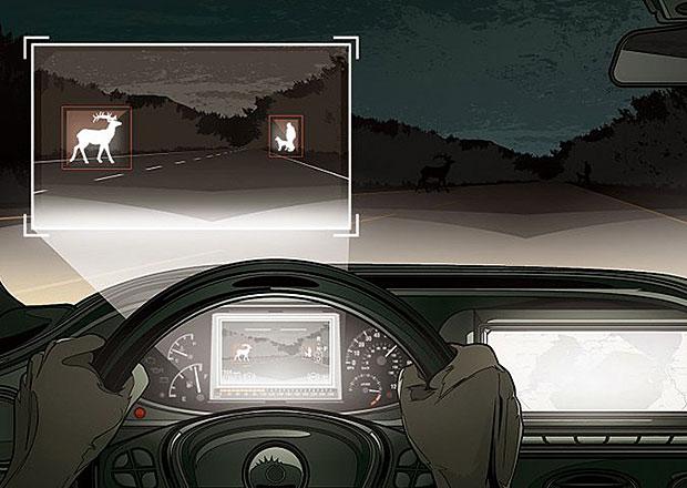 Mercedes-Benz S nyní rozpozná i volně pobíhající zvěř