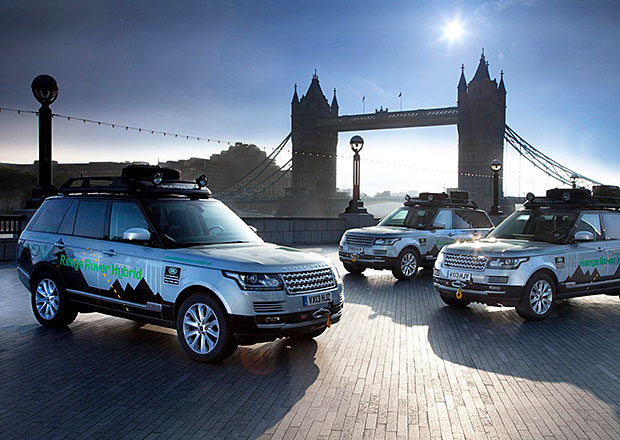 Range Rover Hybrid ujede 16.000 km na Silk Trail 2013