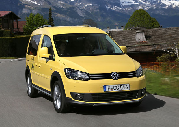 Volkswagen Caddy Tramper s optikou Cross Caddy
