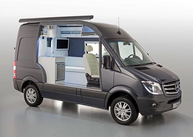 Mercedes-Benz na Caravan Salon 2013