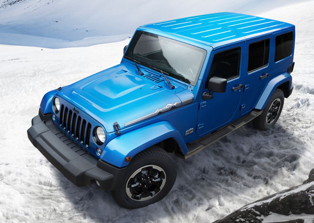 Jeep Wrangler Unlimited Polar: Klidně i na Antarktidu