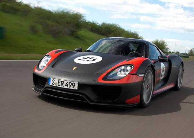 Porsche ve Frankfurtu, to bude hlavně 918 Spyder a oslavy půlstoletí 911