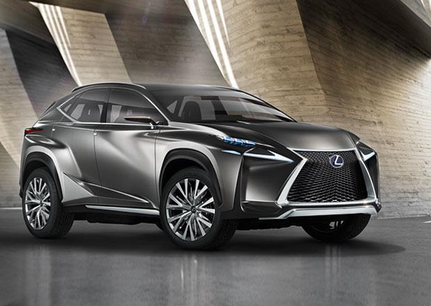 Lexus LF-NX: Konkurent pro X3, GLK a Q5 s designem jako břitva