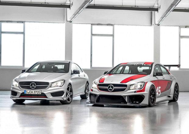 Mercedes CLA 45 AMG Racing Series a CLA 250 Sport: Novinky pro Frankfurt