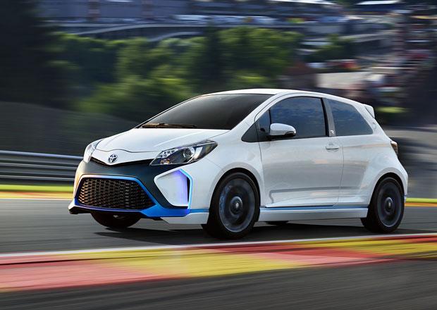 Toyota Yaris Hybrid-R: 420 koní a pohon všech kol