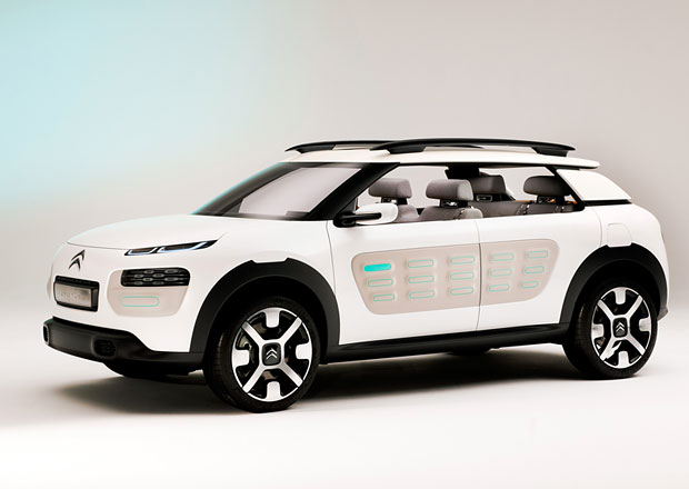 Koncept Citroën Cactus: Bez displeje ani ránu