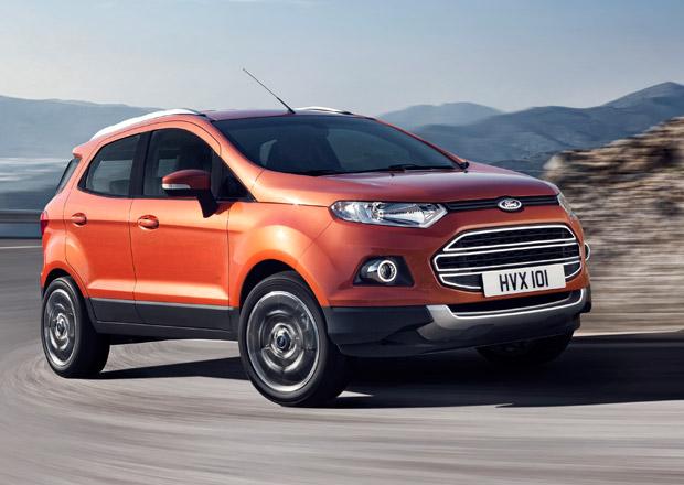 Ford EcoSport vyráží dobýt Evropu s litrovým EcoBoostem