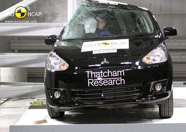 Euro NCAP 2013: Mitsubishi Space Star/Mirage – Čtyři hvězdy musí stačit