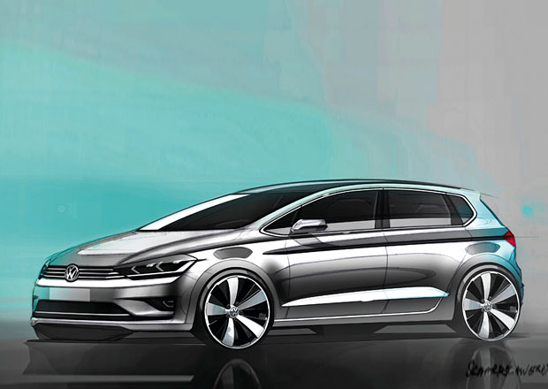 Volkswagen Golf Sportsvan: Nástupce Golfu Plus dorazí příští rok