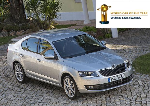 Škoda Octavia v užším výběru kandidátů na Světové auto roku 2014