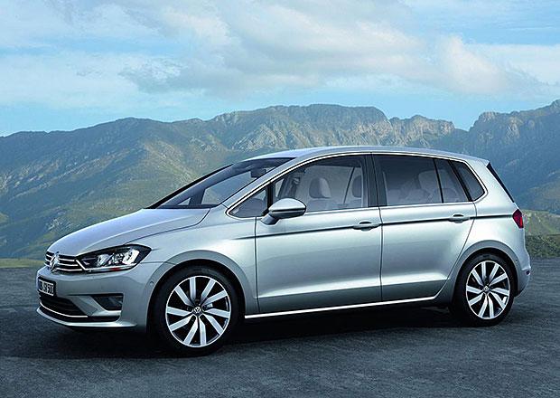 Koncept Volkswagen Golf Sportsvan ukazuje nástupce Golfu Plus