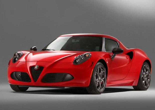 Alfa Romeo 4C: Pro Ameriku bude o metrák těžší