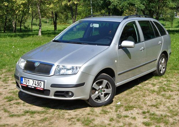 Ojetá Škoda Fabia Combi 1.9 TDI: Prodejní trhák