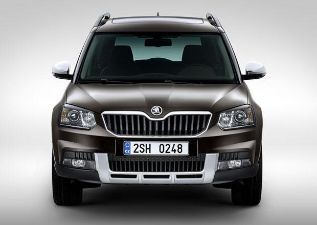 Škoda Yeti 2014: Nová tvář a nové motory