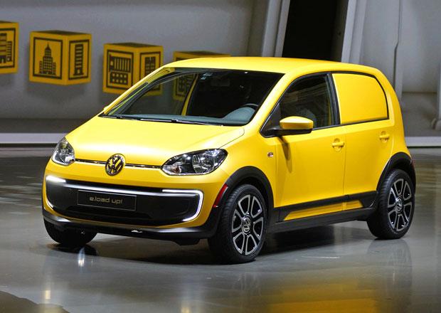 Volkswagen e-load up!: Šetrný kurýr
