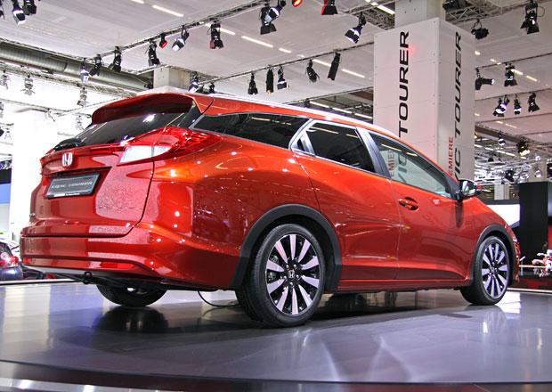Honda Civic Tourer ve Frankfurtu: První dojmy