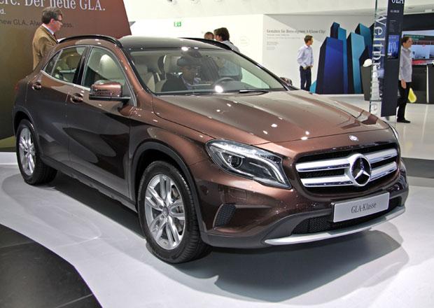 Mercedes-Benz GLA ve Frankfurtu: První dojmy