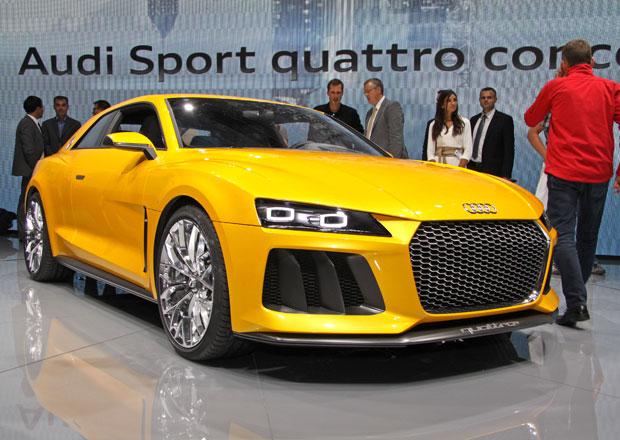 Audi Nanuk quattro a Sport quattro ve Frankfurtu: První dojmy a 2x video