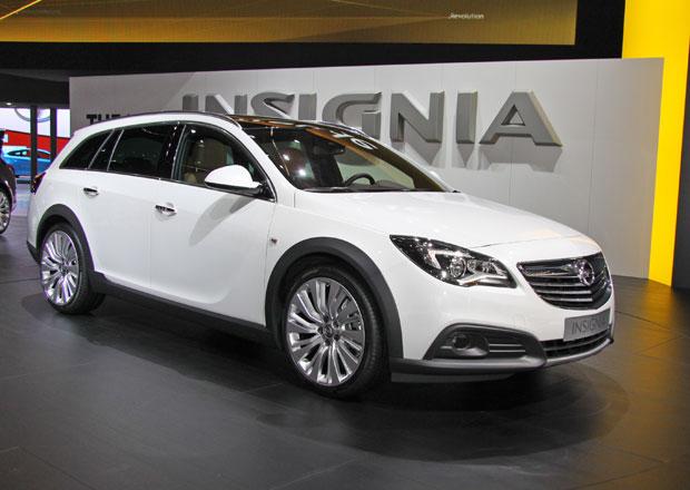 Opel Insignia Country Tourer: Scout od Opelu bude stát 950 tisíc korun