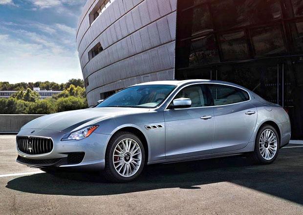 Maserati potvrdilo uvedení Quattroporte Diesel