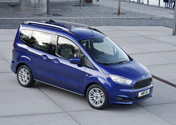 Ford Tourneo Courier je nejmenší z rodinných dodávek