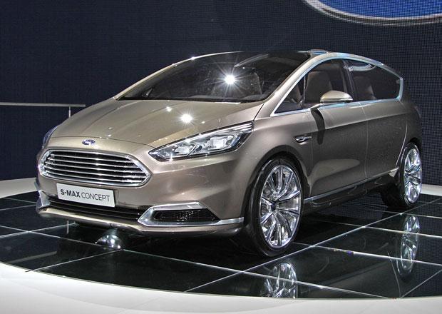 Ford S-Max Concept ve Frankfurtu: První dojmy a video