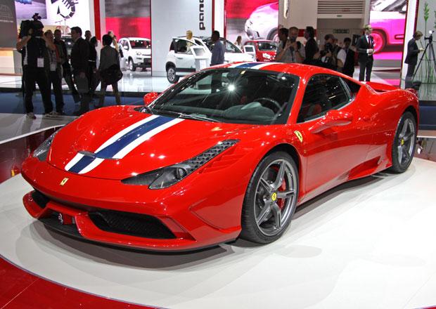 Ferrari 458 Speciale: Klienti s tučnějšími konty mají přednost!