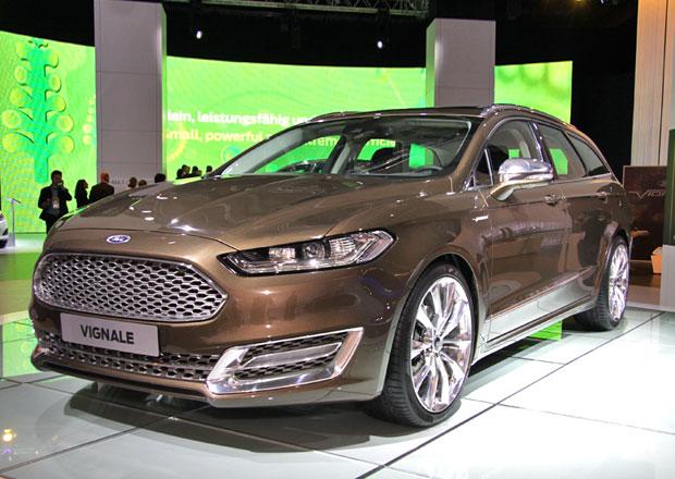 Ford Mondeo Vignale: Luxusní verze dorazí za dva roky (+video)