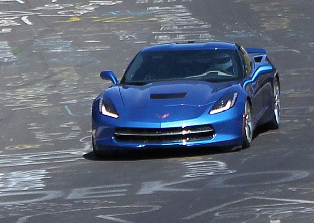 Corvette Stingray vyrazil na Severní smyčku, časy ale GM nezveřejnilo