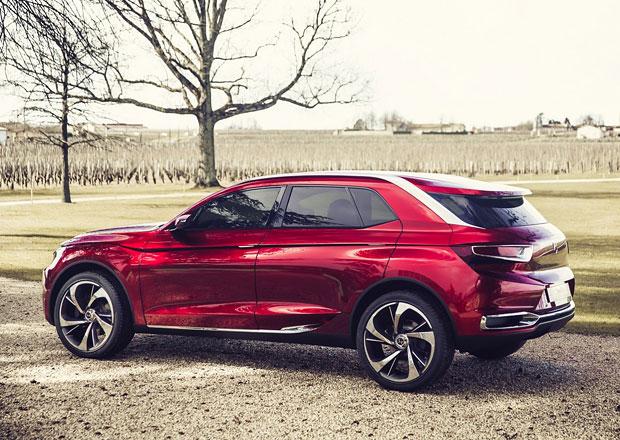Prémiovou řadu Citroën DS doplní sedan a SUV
