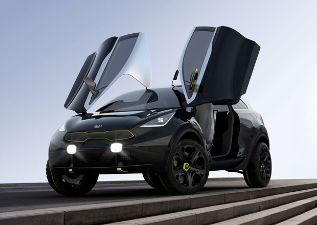 Kia Niro: Sériové malé SUV dorazí na trh v roce 2015