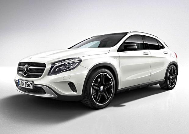 Mercedes-Benz GLA Edition 1: Malé medvídě v exkluzivním balení