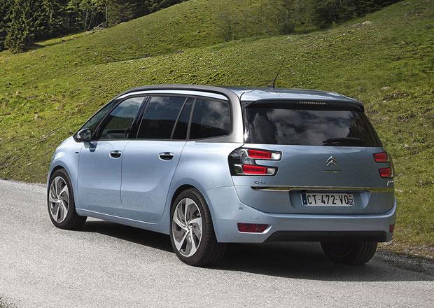 Citroën Grand C4 Picasso: V Česku od 414.900 Kč