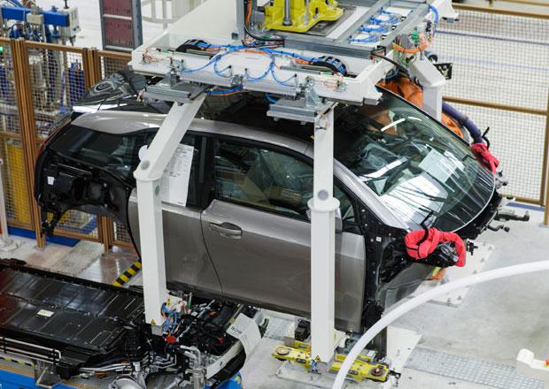 BMW spustilo výrobu elektromobilu i3