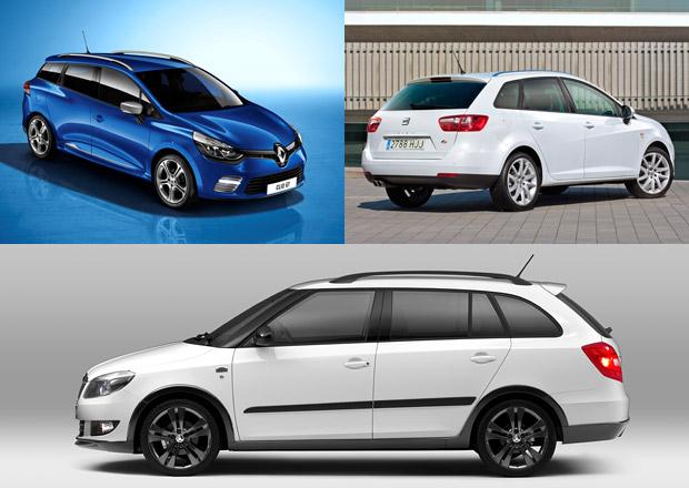Sportovní kombi: Co koupit? Clio GT, Fabii Monte Carlo, nebo Ibizu FR?
