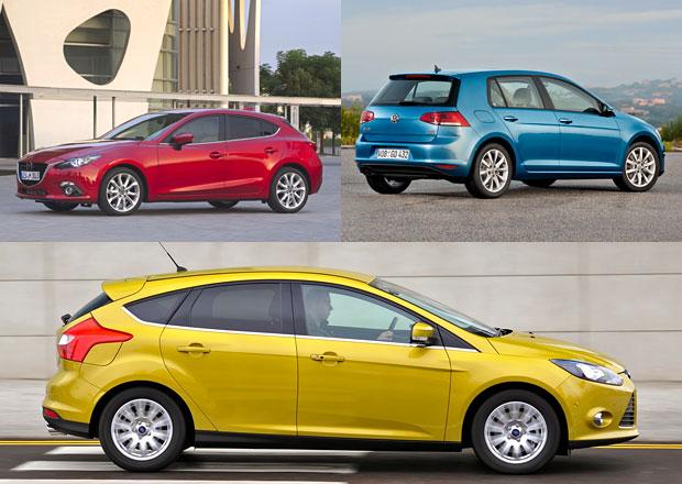 Mazda 3 vs. Focus a Golf: Co koupit?