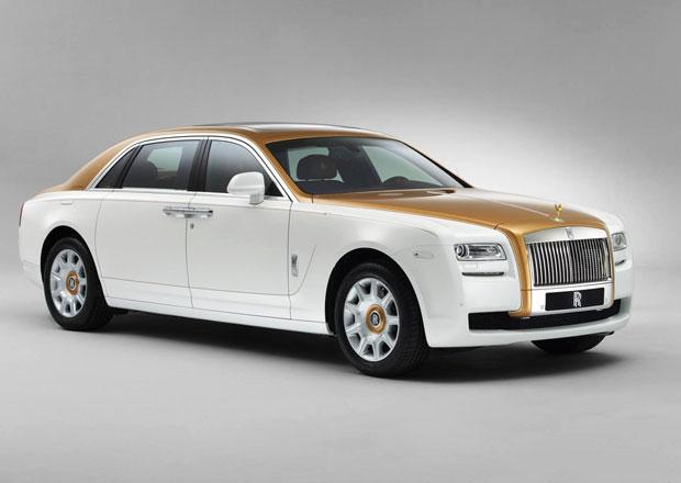 Rolls-Royce Ghost Golden Sunbird: Zlatý duch čínské historie