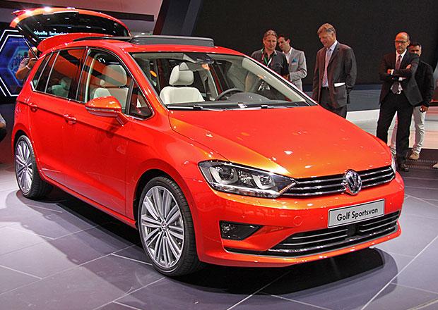 VW Golf Sportsvan chce oslovit hlavně mladé rodiny