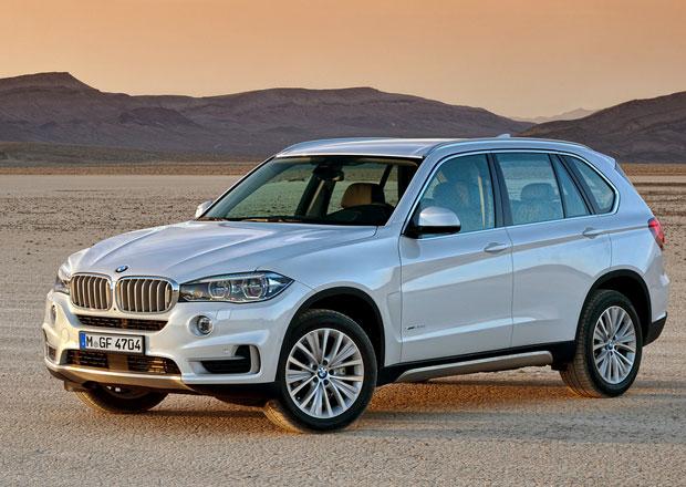 BMW X5: Nové motory, poprvé s pohonem zadních kol