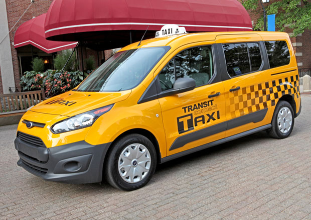 Ford Transit Connect Taxi pro USA bude na LPG i CNG