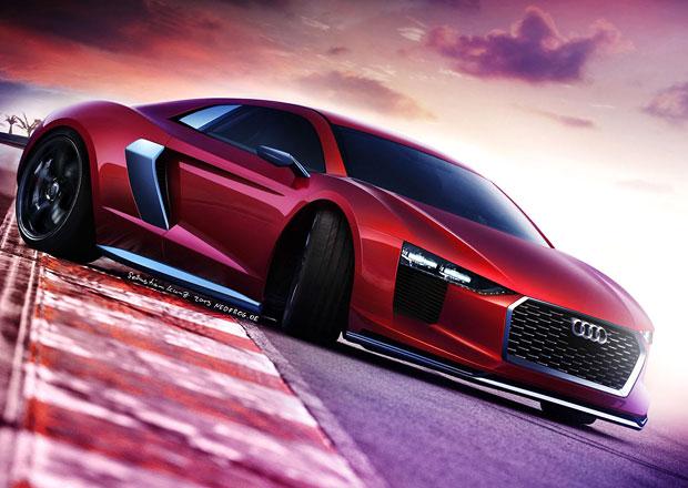 Audi R8 druhé generace potvrzeno pro Ženevu!
