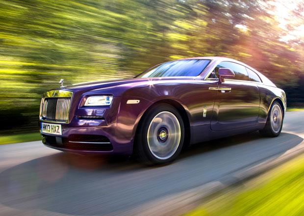 Rolls-Royce Wraith na nov�ch fotografi�ch a videu