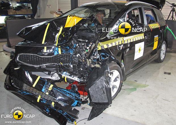 Euro NCAP 2013: Kia Carens – Plný počet hvězd pro kompaktní MPV