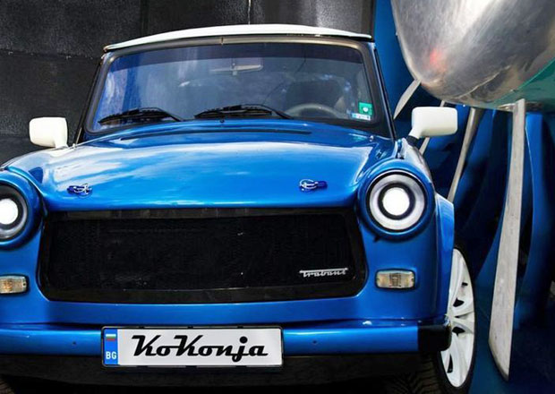 Trabant RS má 220 koní a motor z Fiatu Coupé (+video)