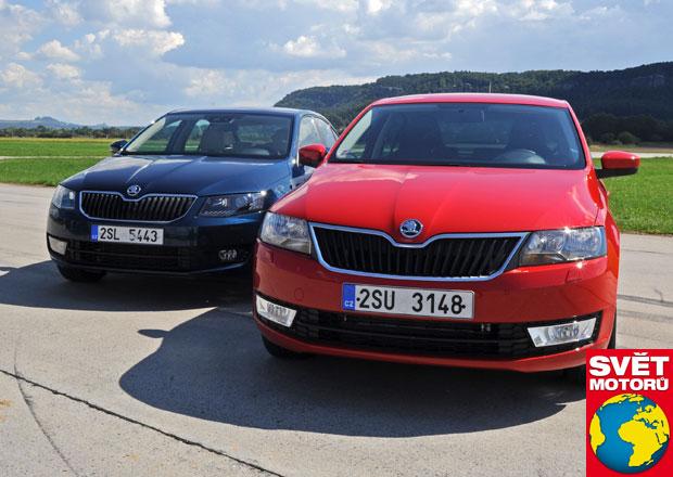 Škoda Octavia 1.2 TSI vs. Rapid 1.2 TSI