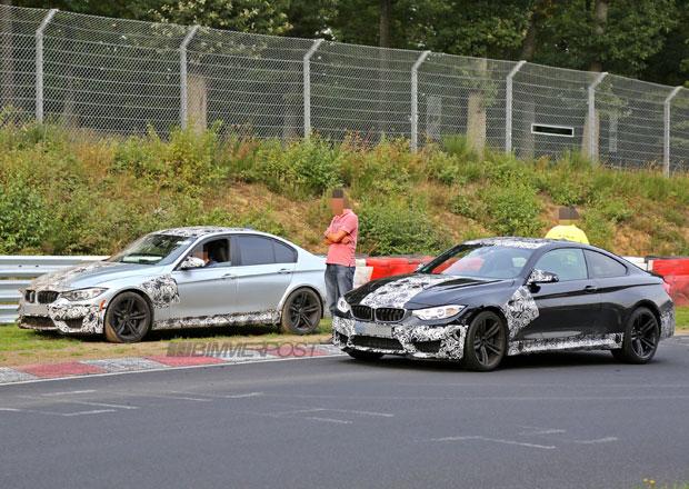 Příští BMW M3 a nechtěný crashtest na Nürburgringu