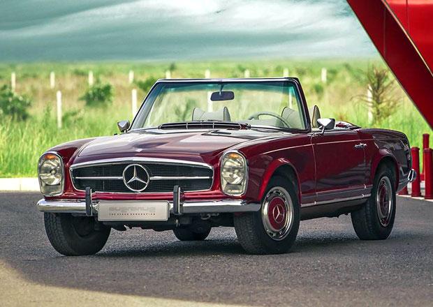 Mercedes-Benz 280 SL: Po více než 40 letech jako nový