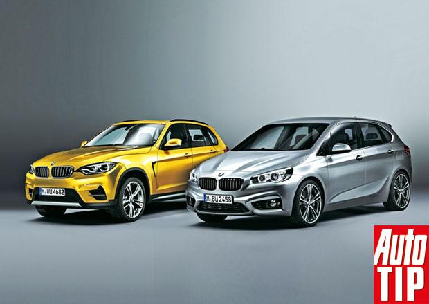 SUV a MPV značek Audi a BMW: Změna stylu